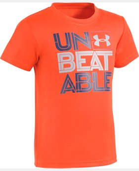 Boys' Pre-School UA Unbeatable Short Sleeve Shirt  1 Color $10.49