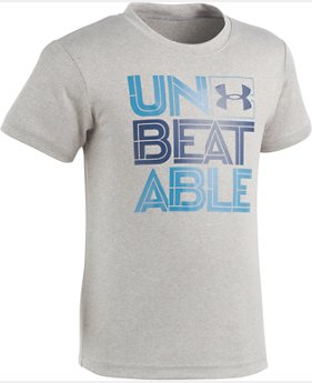 Boys' Toddler UA Unbeatable Short Sleeve Shirt   $17.99