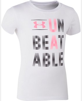 Girls' Toddler UA Unbeatable T-Shirt  1 Color $13.99
