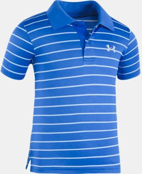 Boys' Toddler UA  Game Stripe Yarn Dye Polo Shirt  1 Color $33.99