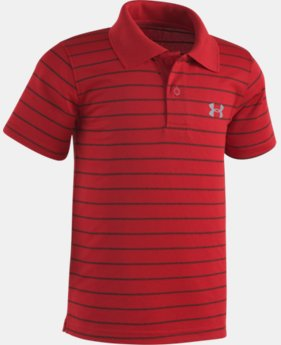 Boys' Infant UA  Game Stripe Yarn Dye Polo Shirt   $26.99