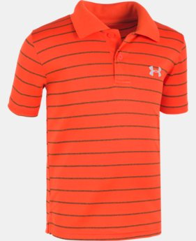 Boys' Infant UA  Game Stripe Yarn Dye Polo Shirt  1  Color Available $26.99