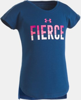 Girls' Pre-School UA Fierce T-Shirt  1 Color $19.99