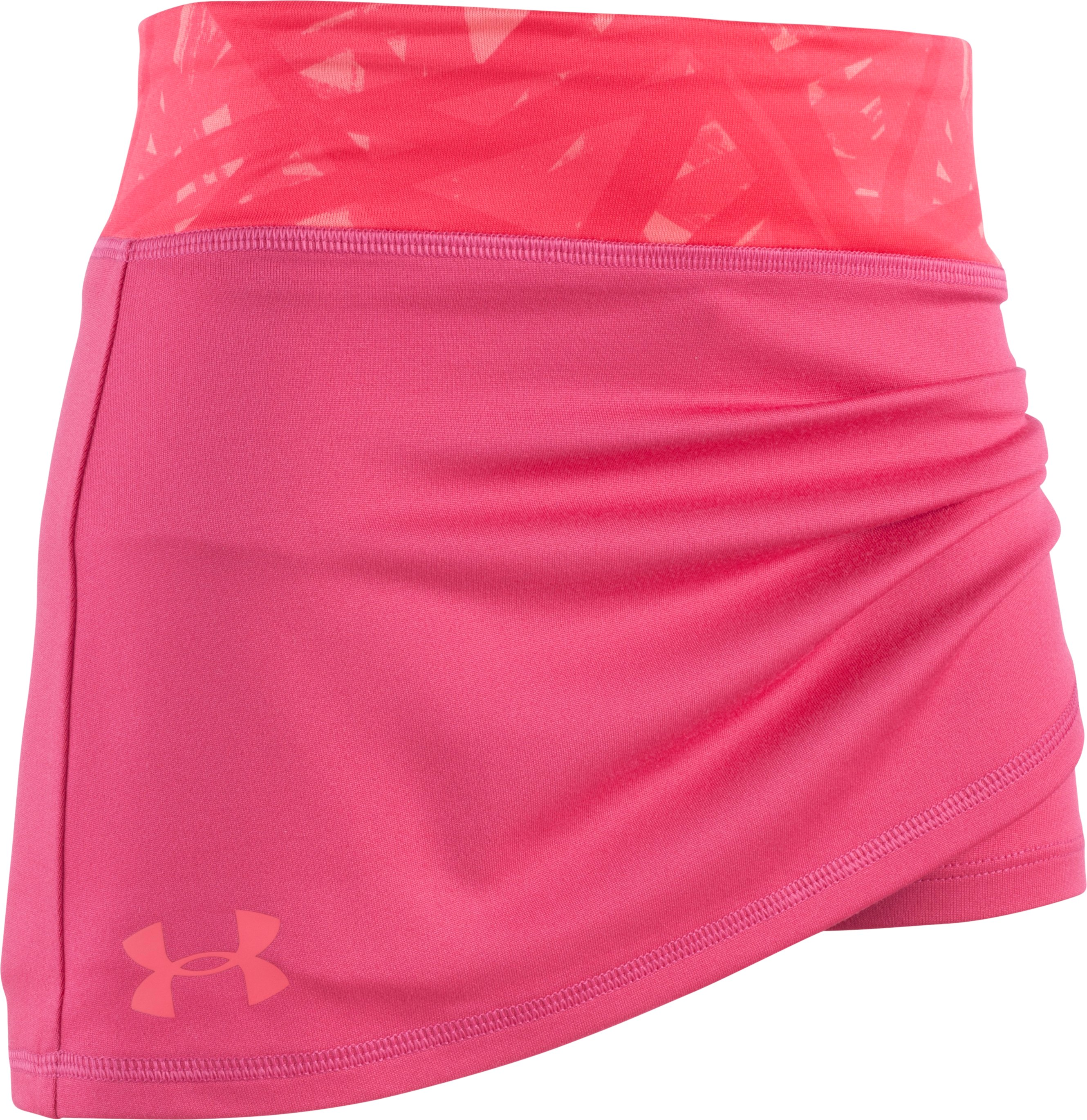 Girls' Toddler UA Divergent Play Up Skort, Honeysuckle, Laydown
