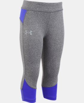 Girls' Pre-School UA Studio Capris  2 Colors $27