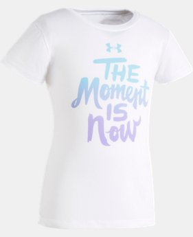 Girls' Toddler UA The Moment Is Now T-Shirt  2 Colors $13.99