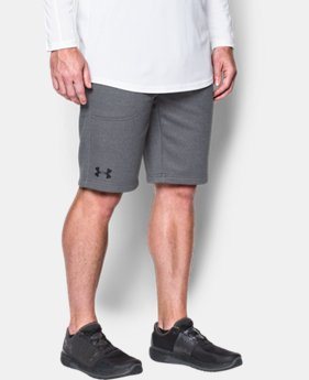 New to Outlet Men's UA Storm Armour Fleece® Shorts  2 Colors $33.74
