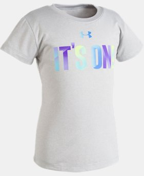 Girls' Toddler UA It's On T-Shirt  1 Color $13.99