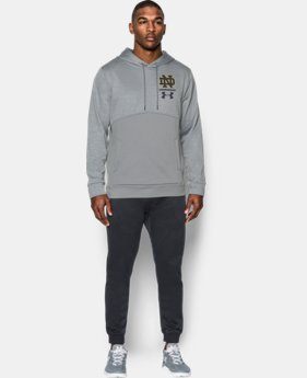 New Arrival Men's Notre Dame UA Twist Hoodie  1 Color $89.99