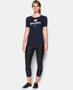 Women's Notre Dame Check Point T-Shirt  1 Color $37.99