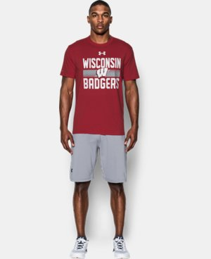 New Arrival Men's Wisconsin T-Shirt  1 Color $29.99