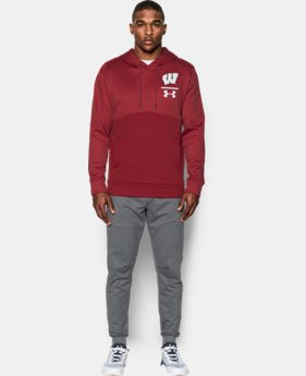 New Arrival Men's Wisconsin UA Twist Hoodie   $89.99