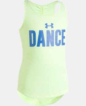 Girls' Pre-School UA Dance Tank  1 Color $12.74