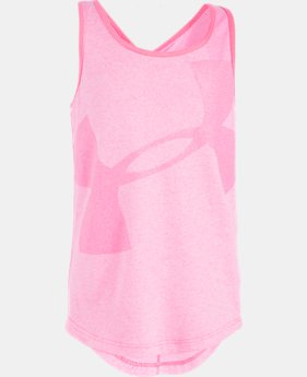 Girls' Pre-School UA Big Logo Tank  1 Color $16.99