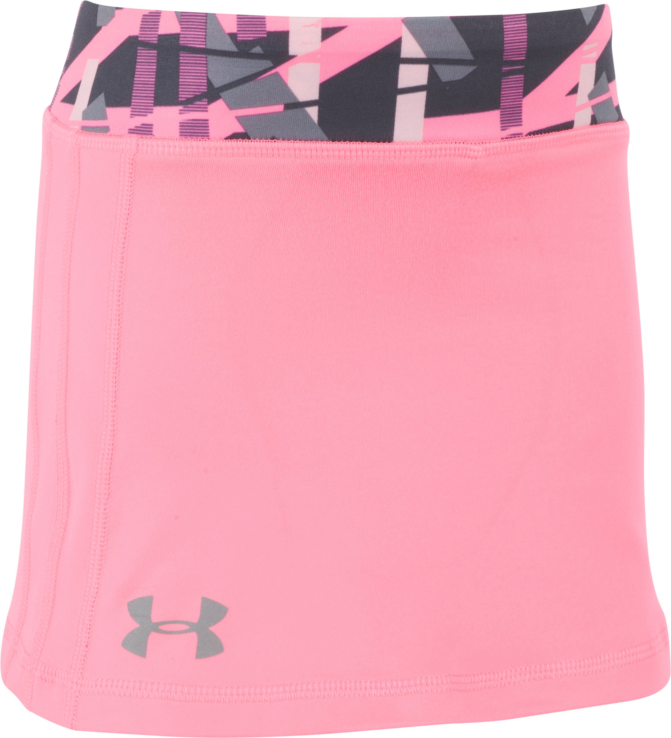 Girls' Toddler UA Shifting Ladders Skort, PINK PUNK, Laydown