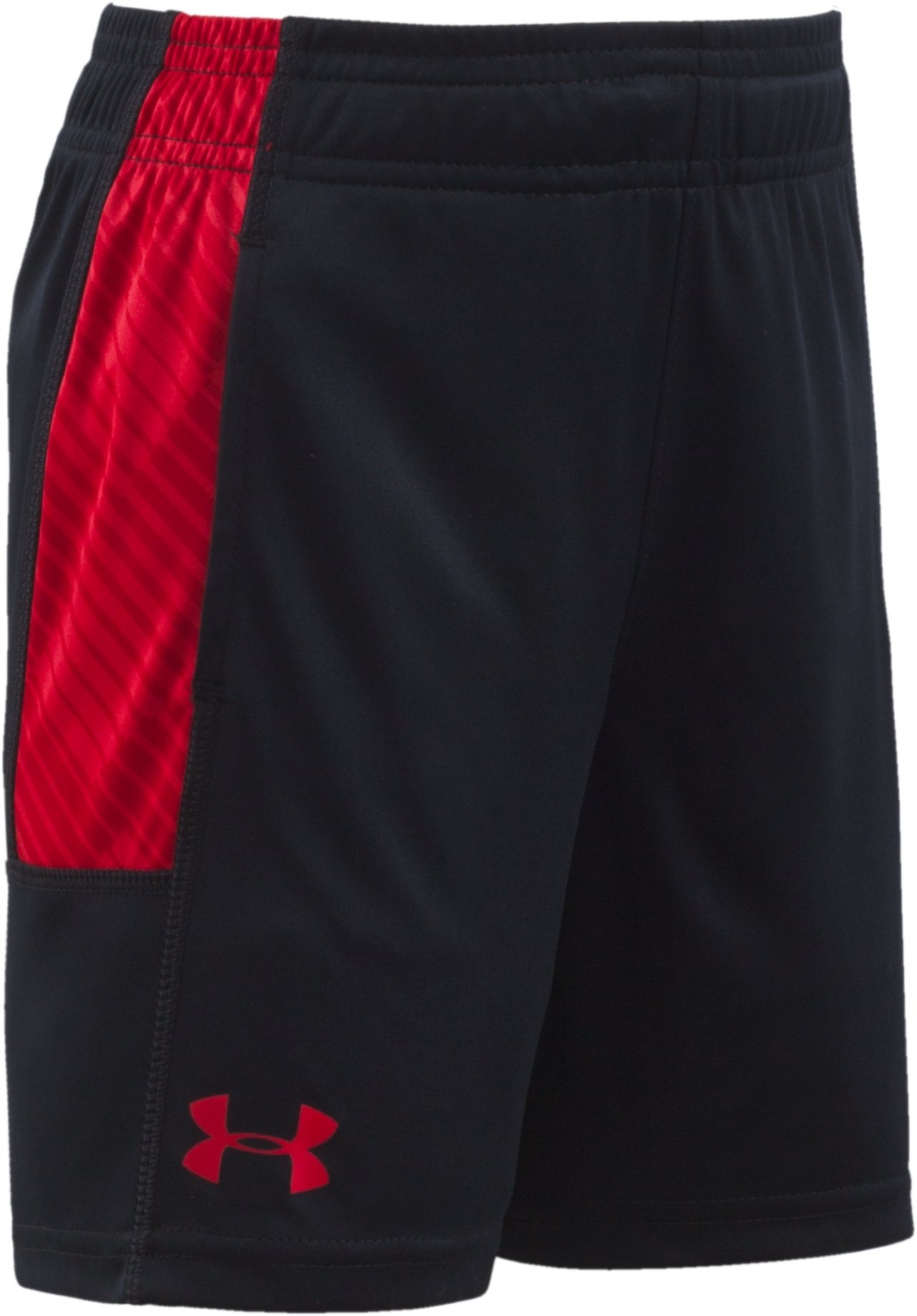 Boys' Infant UA Tilt Shift Eliminator Shorts, Black , Laydown
