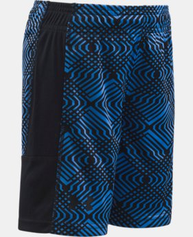 Boys' Pre-School UA Midtown Grid Eliminator Shorts  1 Color $17.99