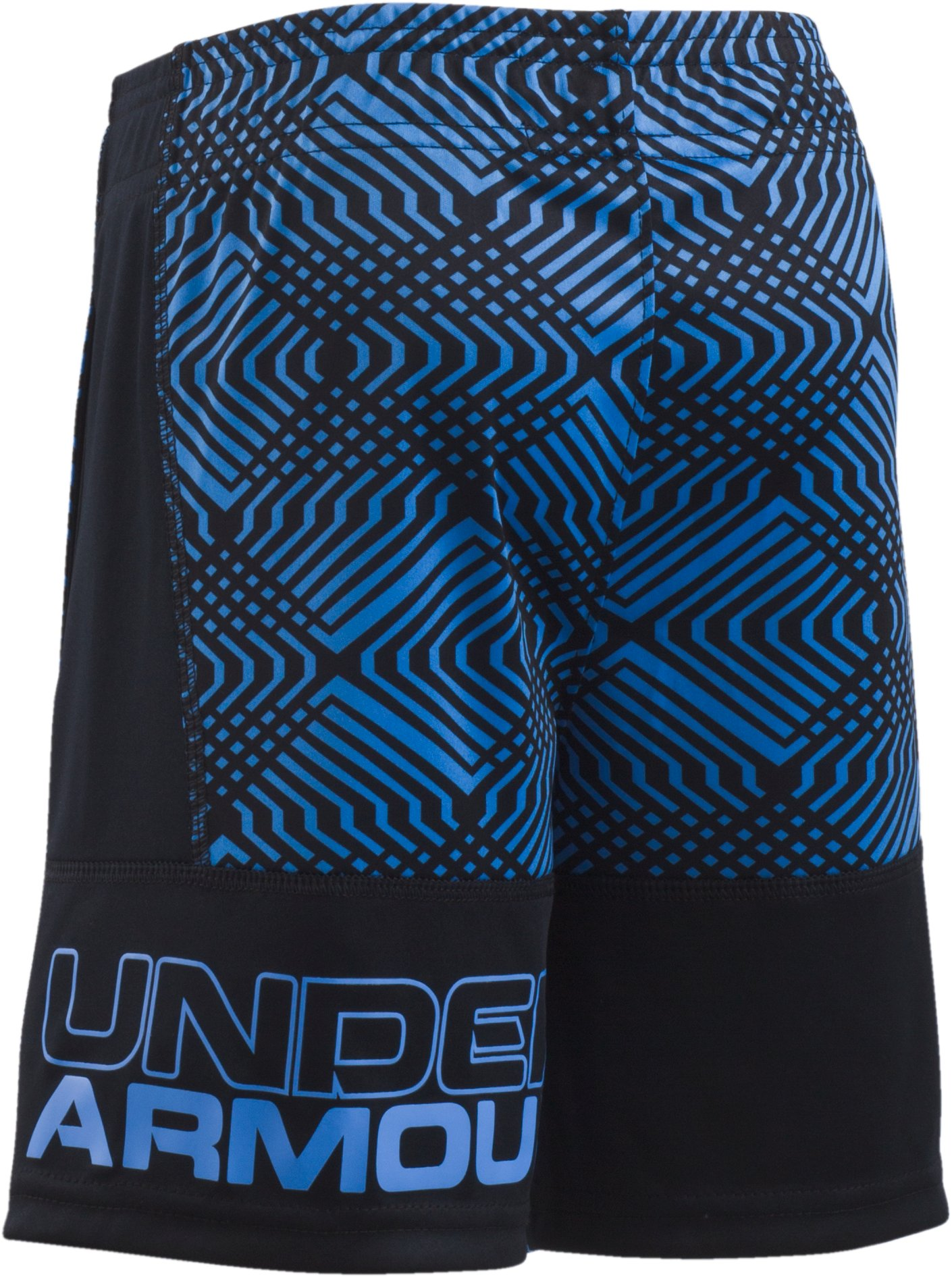Boys' Toddler UA Midtown Grid Eliminator Shorts, Water