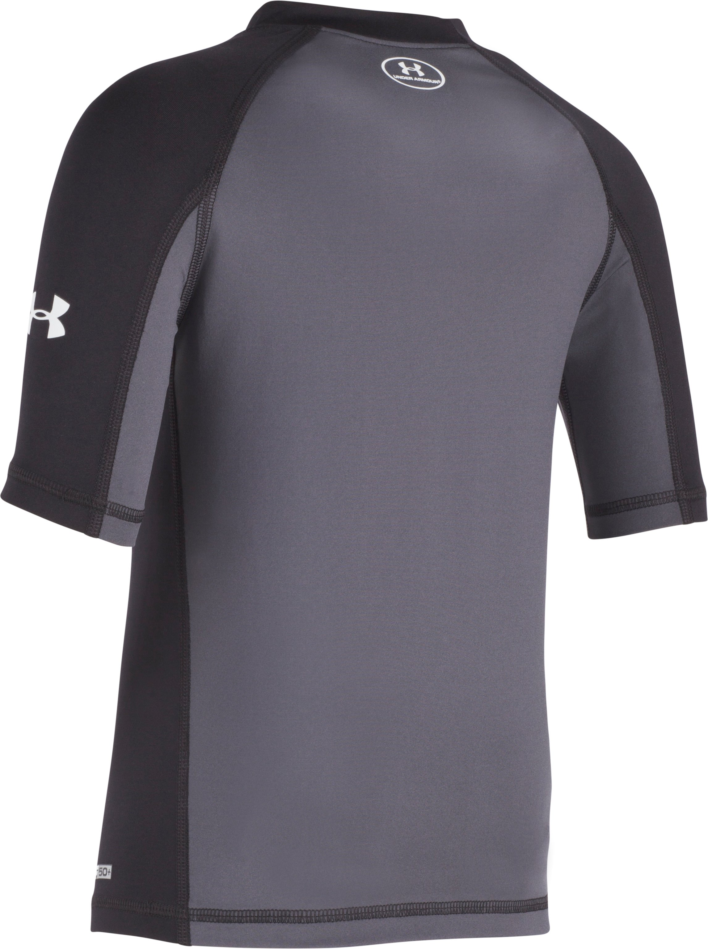 Boys' Pre-School UA Compression Rashguard Short Sleeve Shirt 2 Colors $19.99