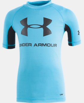 Boys' Infant UA Rashguard Short Sleeve Shirt  2  Colors Available $24
