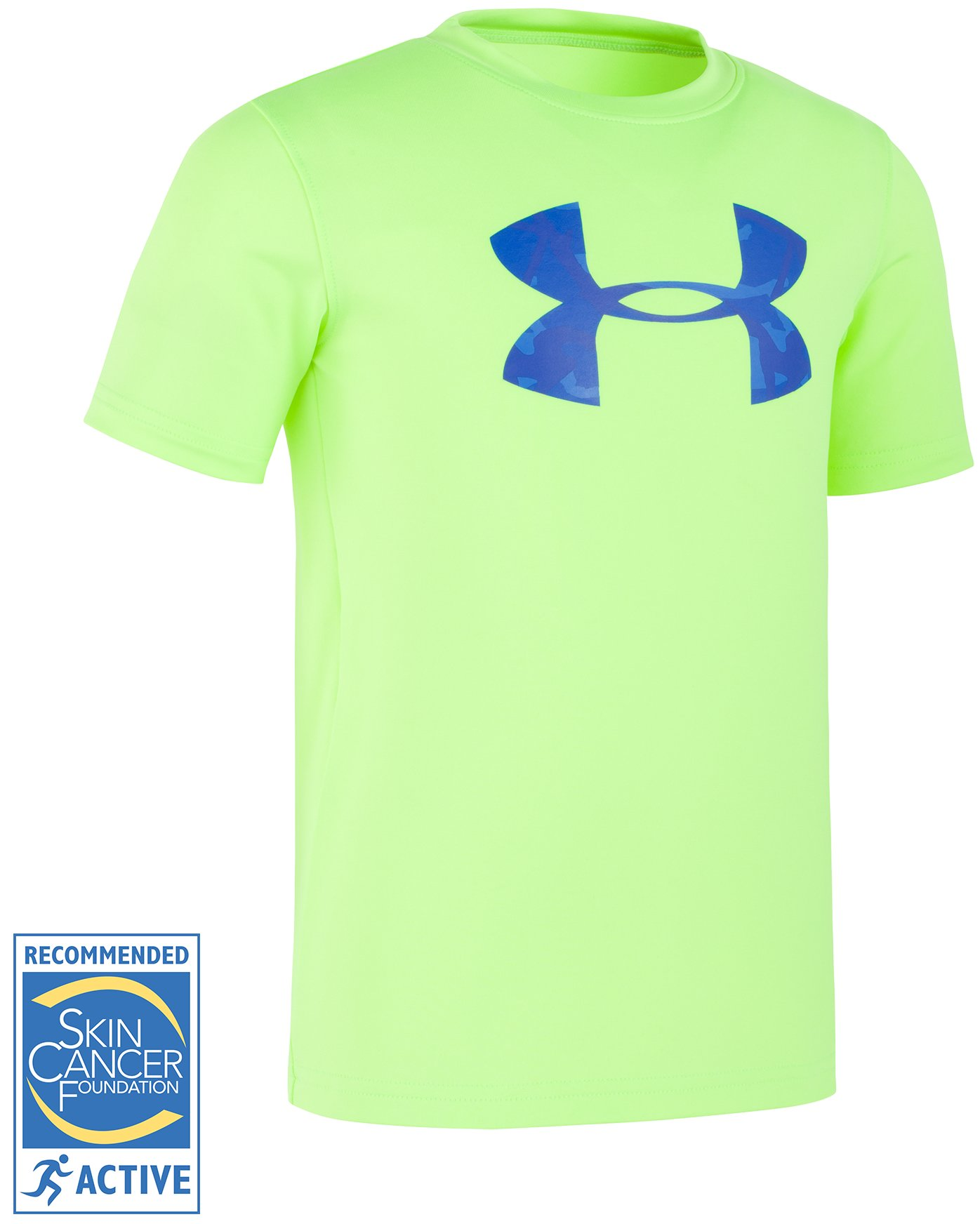 Boys' Toddler UA Anatomic Surf Short Sleeve Shirt, FUEL GREEN,