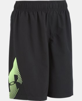New to Outlet Boys' Pre-School UA Entry Solid Boardshorts  3  Colors $20.99