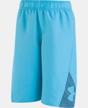 Boys' Pre-School UA Entry Solid Boardshorts  2  Colors Available $26.99