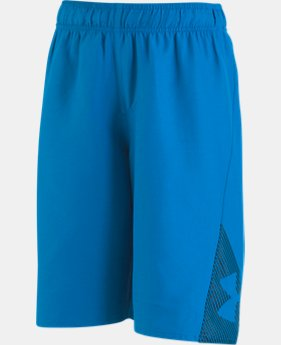 Boys' Pre-School UA Entry Solid Boardshorts  3  Colors Available $26.99