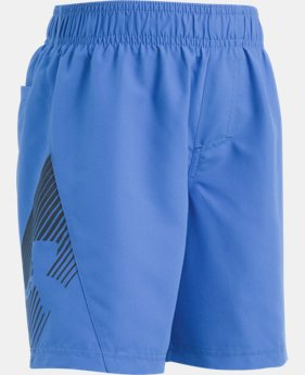 Boys' Pre-School UA Entry Solid Boardshorts  1 Color $16.99 to $20.99