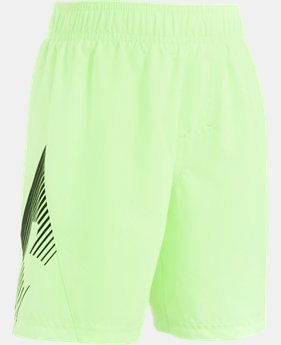 Boys' Toddler UA Entry Solid Boardshorts   $16.99