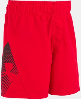 New to Outlet Boys' Toddler UA Entry Solid Boardshorts  2 Colors $16.99 to $20.99