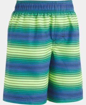 Boys' Infant UA Pulse Stripe Volley Shorts  1 Color $13.49
