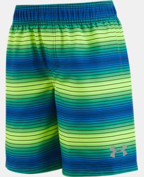 Boys' Infant UA Pulse Stripe Volley Shorts  2 Colors $17.99