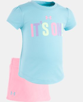 Girls' Newborn UA It's On Skirt Set  1 Color $28.99