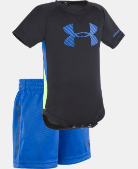 Boys' Newborn UA Tilt Shift Sportster Set  1 Color $24.99