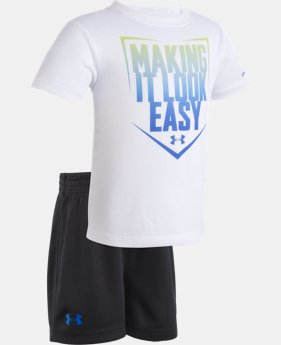 Boys' Infant UA Making It Look Easy Set  1  Color Available $27.99