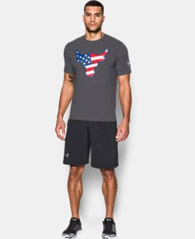 Men's UA Freedom Rock The Troops T-Shirt   $34.99