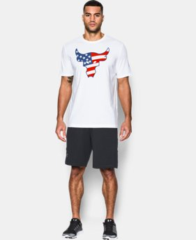 Men's UA Freedom Rock The Troops T-Shirt  2 Colors $20.24