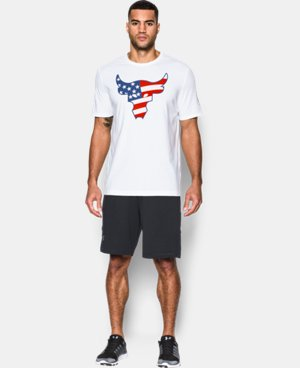 New Arrival Men's UA Freedom Rock The Troops T-Shirt  1 Color $34.99