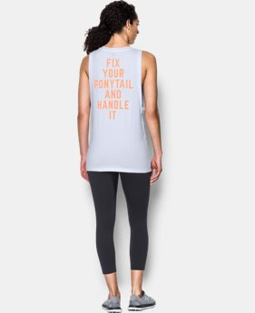 New Arrival Ponytail Muscle Tank   $39.99