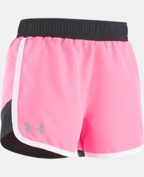Girls' Newborn UA Fast Lane Shorts  1 Color $13.99