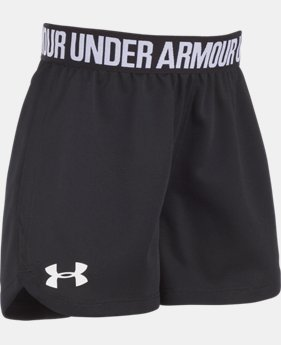 New Arrival  Girls' Pre-School UA Play Up Shorts LIMITED TIME: FREE SHIPPING 2  Colors Available $22