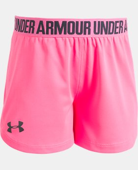 Girls' Pre-School UA Play Up Shorts   $17.99