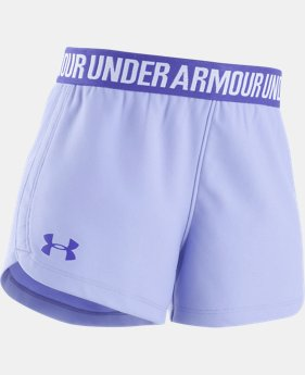 Girls' Pre-School UA Play Up Shorts  4  Colors $17.99