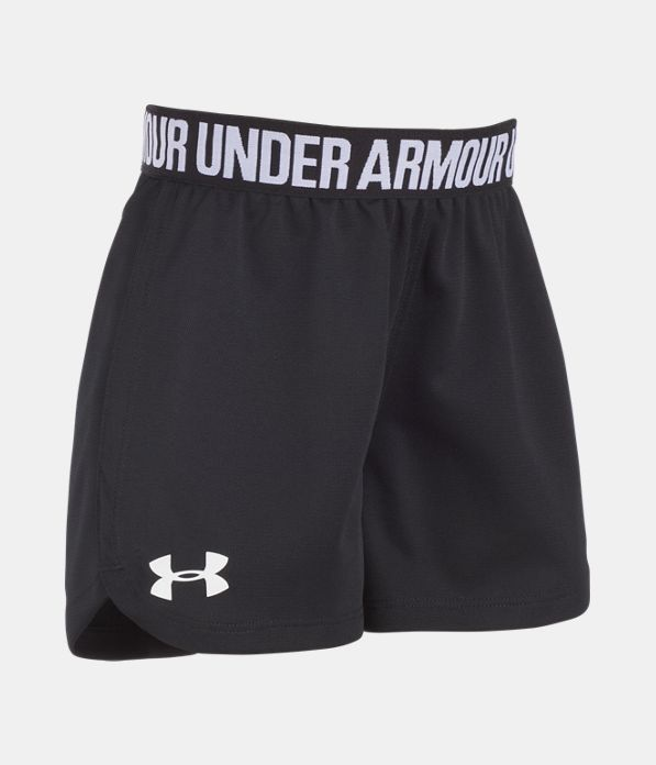 New Under Armour Girls Play Up Short