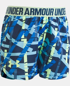 Girls' Pre-School UA Ladders Play Up Shorts  1 Color $14.99