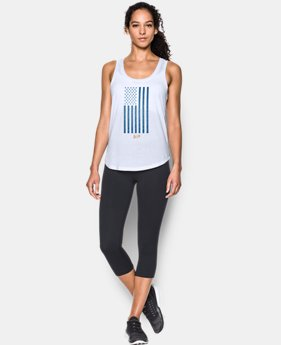 Women's Michael Phelps Flag Tank LIMITED TIME: FREE U.S. SHIPPING 1 Color $34.99