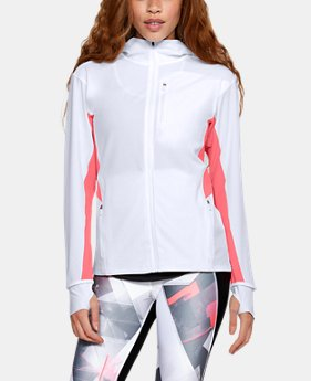 Women's UA Outrun The Storm Jacket   $90
