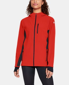 Women's UA Outrun The Storm Jacket  3  Colors Available $90