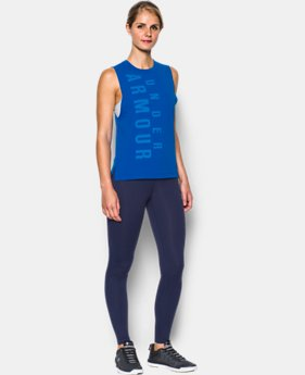 Women's UA Exploded Wordmark Muscle Tank  1 Color $29.99